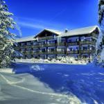 Winteraufnahme Hotel Ludwig Royal