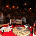 Pizza na Plaza de Santo Domingo