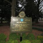 The  Blue Star Memorial at the Scenic view