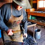 our favorite blacksmith at work 2014