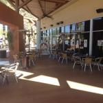 Patio for YC's in the Scottsdale Pavilions