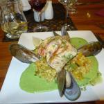 Le plat de poisson