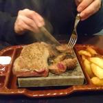 Hungarian Steak on the Hot Stone