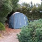 A cosy camping spot
