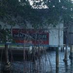 Next door neighbor boathouse