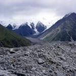 Auf dem Gongga Gletscher bei 4150 m ü.M.