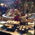 Breakfast Treats Table on 12/14/14