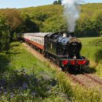 The Cornish Belle climbing up to Bodmin