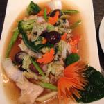 Mixed vegetables with chicken