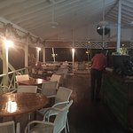 Lovely beachside restaurant