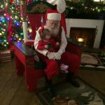 Santa visits Santa's Village in Huntsville!
