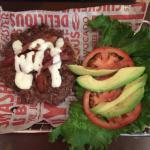 avocado club burger