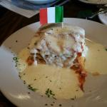 Alfredo lasagna
