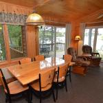Cabin #5 Living/Dining Area