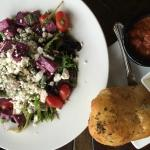 Choose from several seasonal salads