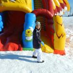 Parco Giochi Sulla Neve Foto