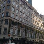 Saks Fifth Avenue iconic exterior