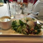 Delicious Soup and Salad!