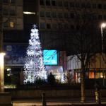 vista frente al hotel