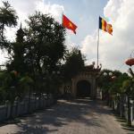 タイ湖湖畔の鎮国寺