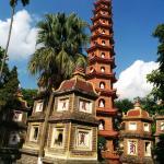 鎮国寺の塔