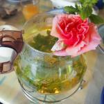 Tea from the garden