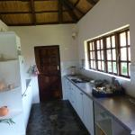 Kitchen in the chalet
