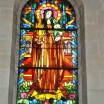 Stain Glass Window, St. Clara