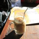 Nice chillout iced coffee