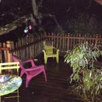 La terrasse de la cabane Eugénie
