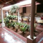 Courtyard at the Malgudi Coffee Shop