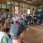 Murray's tale, in the woolshed
