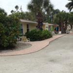 backside of motel