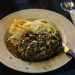filet mignon pepper sauce , pic by Bob Pecchia