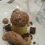 Le dessert faux cèpe