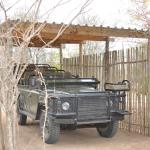 Safari vehicle - this thing can go anywhere!