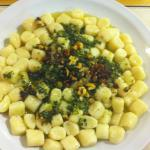 Maravillosa Gastronomía , Ñoquis al Pesto