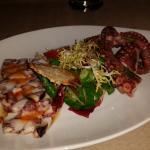 Octopus cooked 2 ways