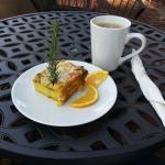 My Veggie Bake and Coffee at Brickyard Coffee and Tea