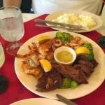 The food is always tasty at La Plaza