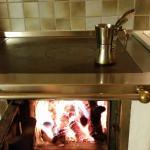 la stufa in cucina