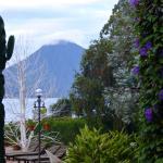 Vista desde os jardins do hotel