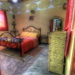chambres décorées avec produits artisanaux