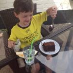 Great chocolate cake at Vanilla