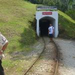 Entrance of the tunnel.
