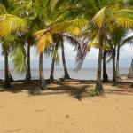 plage de Montabo face à l'hotel