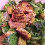 Grilled Chicken Cesar Salad -yum!