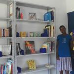 Newly Stocked Book Shelves