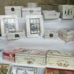 Handmade bijoux boxes