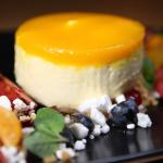 No1 in Lime Lounge - Mango cheesecake